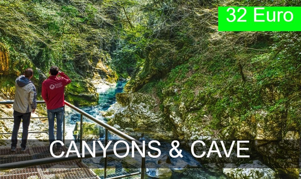 Canyons and Caves tour from Tbilisi