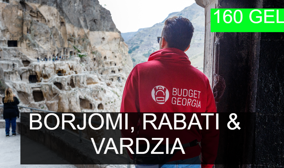 Borjomi, Rabati and Vardzia tour