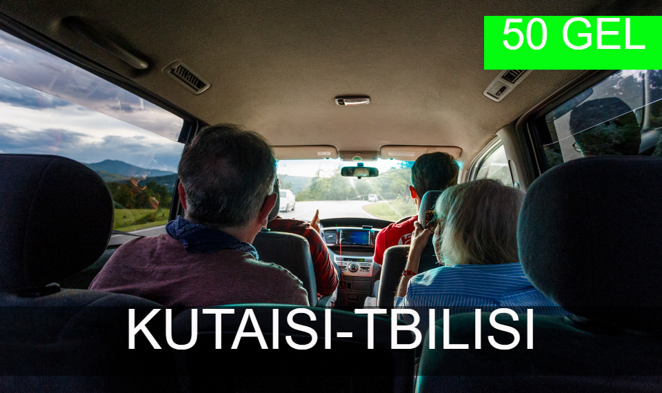Bus transfer from Kutaisi to Tbilisi